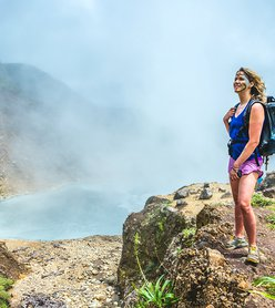 The Ultimate: Hiking to Dominica's Boiling Lake